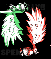 SD:DS- Green and Red by yamiaki