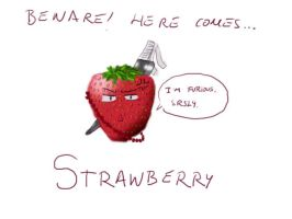 The Strawberry by Beltxa