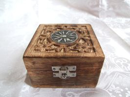 Silver Chest 3 by sacral-stock