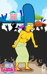 Harlem-Shake Marge Simpson Animated gif by Chesty-Larue-Art