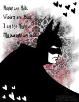 Batman Valentine by Pokeaday