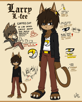 Ref: Larry L-fee the cat by CofL-fee