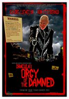 DRACULA'S ORGY OF THE DAMNED teaser poster by PaulBaack