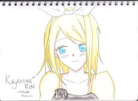 Kagamine Rin - Evil series by AnImAtEd-MeDoW