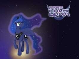 Luna Painting by UnBronySenor
