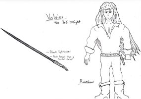 Valvius the Jedi Knight by Rustheart