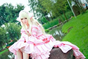 Chobits - Pink Chii by Xeno-Photography