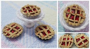 1:12 Cherry Pie Charms by cinnamonskyes