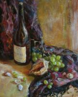 Still Life with Grape and Sea Shells by ShastinaHell-N