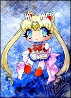 Sailor moon chibi by DarkMysha