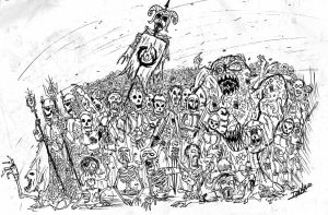 Undead Army by Gubblyn