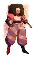 Garnet feat. Golf Pants by Akilees