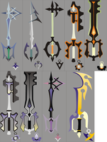Kingdom Hearts 358-2 Keyblade2 by nativetech
