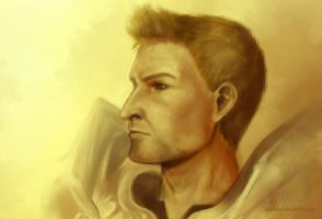 Dragon Age: Alistair by adaneko