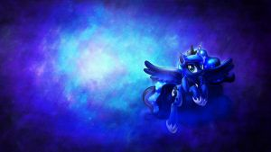 Luna, cloud, wallpaper. by sgtwaflez