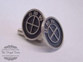 BMW Cufflinks by Tzel-ha-Lyla