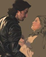 Gisborne and Marian WIP2 by Tara1976