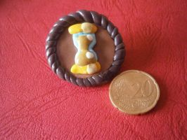My Little Pin - Dr. Whooves by HipsterOwlet