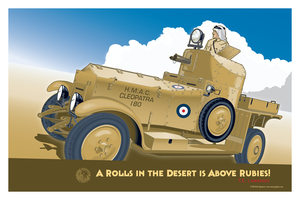 Rolls Royce Silver Ghost Armoured Car Mk I v2 by MercenaryGraphics