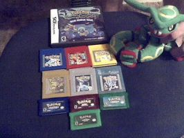 Pokemon Video game collection by Salem-the-Psychic
