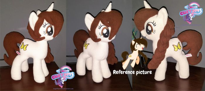 OC Kathrin plush by angel99percent