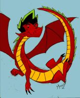 American Dragon by MarioRoz