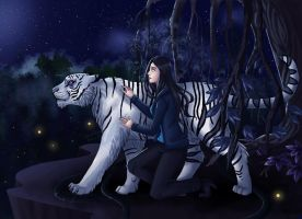 The Girl and her Tiger by BeastQueen