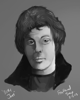Billy Joel Portrait Practice by FeatheredSoap