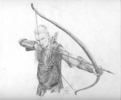 Legolas by Blue-Bell-Oggie