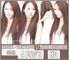 Krystal (F(x)) - PACK PNG#01 by JeffvinyTwilight