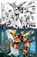 THE FURY OF FIRESTORM: THE NUCLEAR MEN #16 by DustinYee