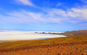 The way to Tunupa Mountain, The Salar, Bolivia by Tomer-DA