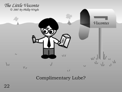 Little Visconte: IRS Lube by masterxodin