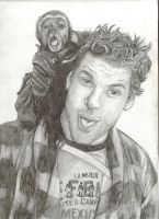 Dane Cook and Monkey by KOAX117