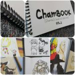ChamBOOK - Chamba's book of sketches Vol.1 by theCHAMBA