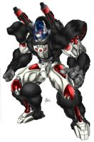 Optimus Primal, Bot mode by RoadbusterDoM