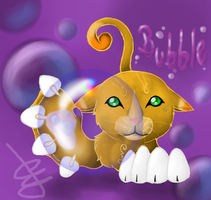 Bubble the cat by xXMarijuanaXx