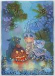 Halloween rain by isletree