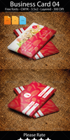 FoodService Business Card Design by artgh
