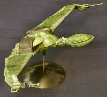 Klingon Bird of Prey by Roguewing