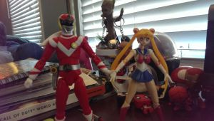 Vul Eagle and Sailor Moon by V1EWT1FUL