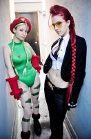 Cammy White and Crimson Viper by KOCosplay