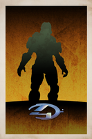Halo 4 Poster by Browniehooves