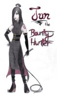 Jun the Bounty Hunter by ZukosSoul