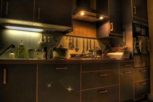 My kitchen . by osiolekpl