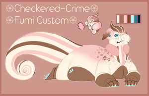 Fumi custom: Checkered-Crime by MrGremble