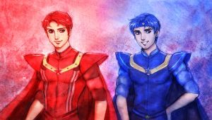 Red and Blue redesign by Patreek