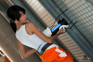 cosplay Chell -5 by sadakochan87