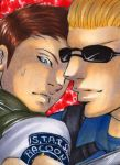 Chris and Wesker by TheJenno92