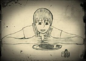 dinnertime with crush by yamumil